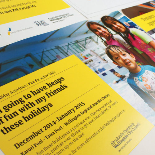 Wellington City Council – Communication Collateral