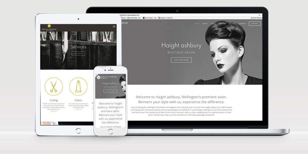 Haight Ashbury – Website