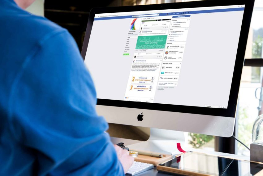 DIA Government Inquiry into Mental Health – Facebook posts and Advertising