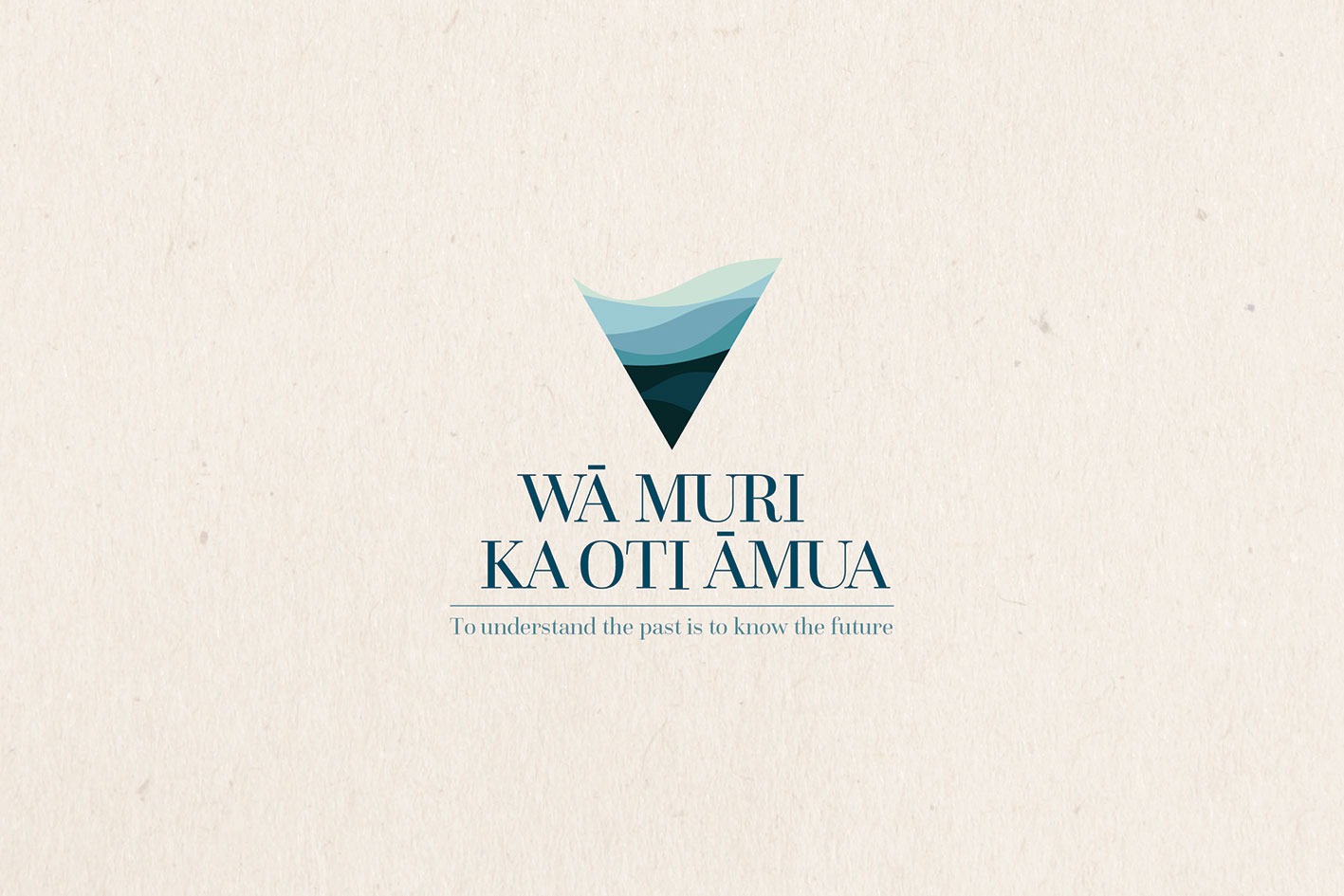 Wa Muri Ka Oti Amua – Branding