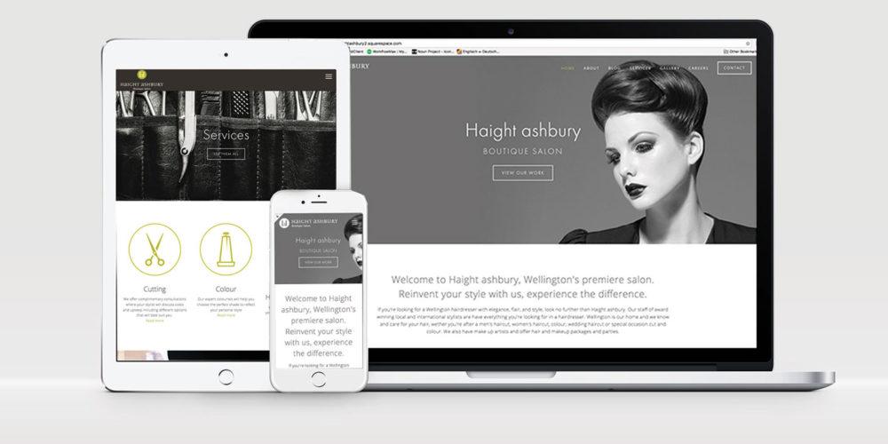 Haight Ashbury – Website