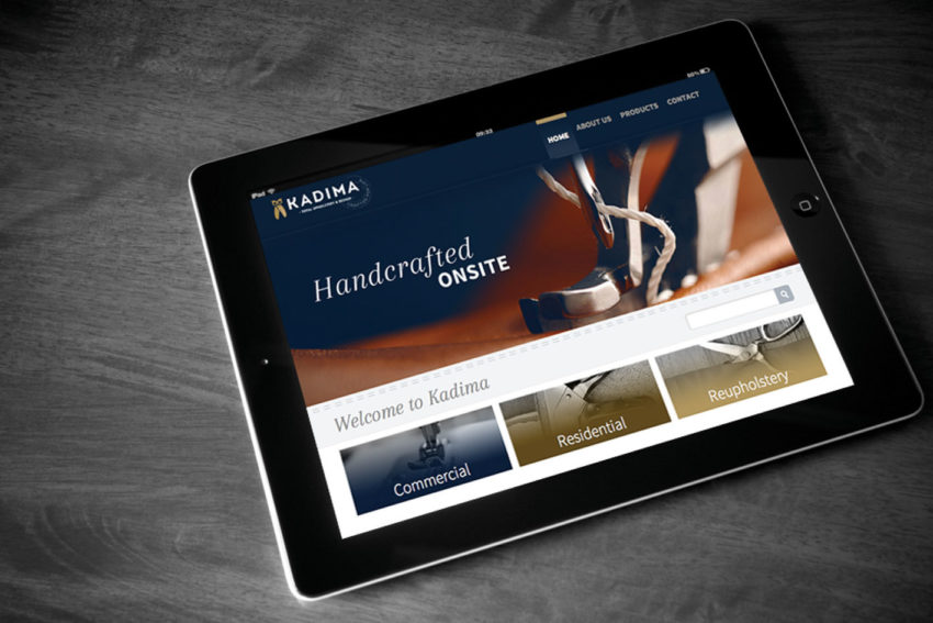 Kadima Furniture – Website